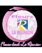 RAQUETTES DE FLEURS DEUIL LA RÉUNION