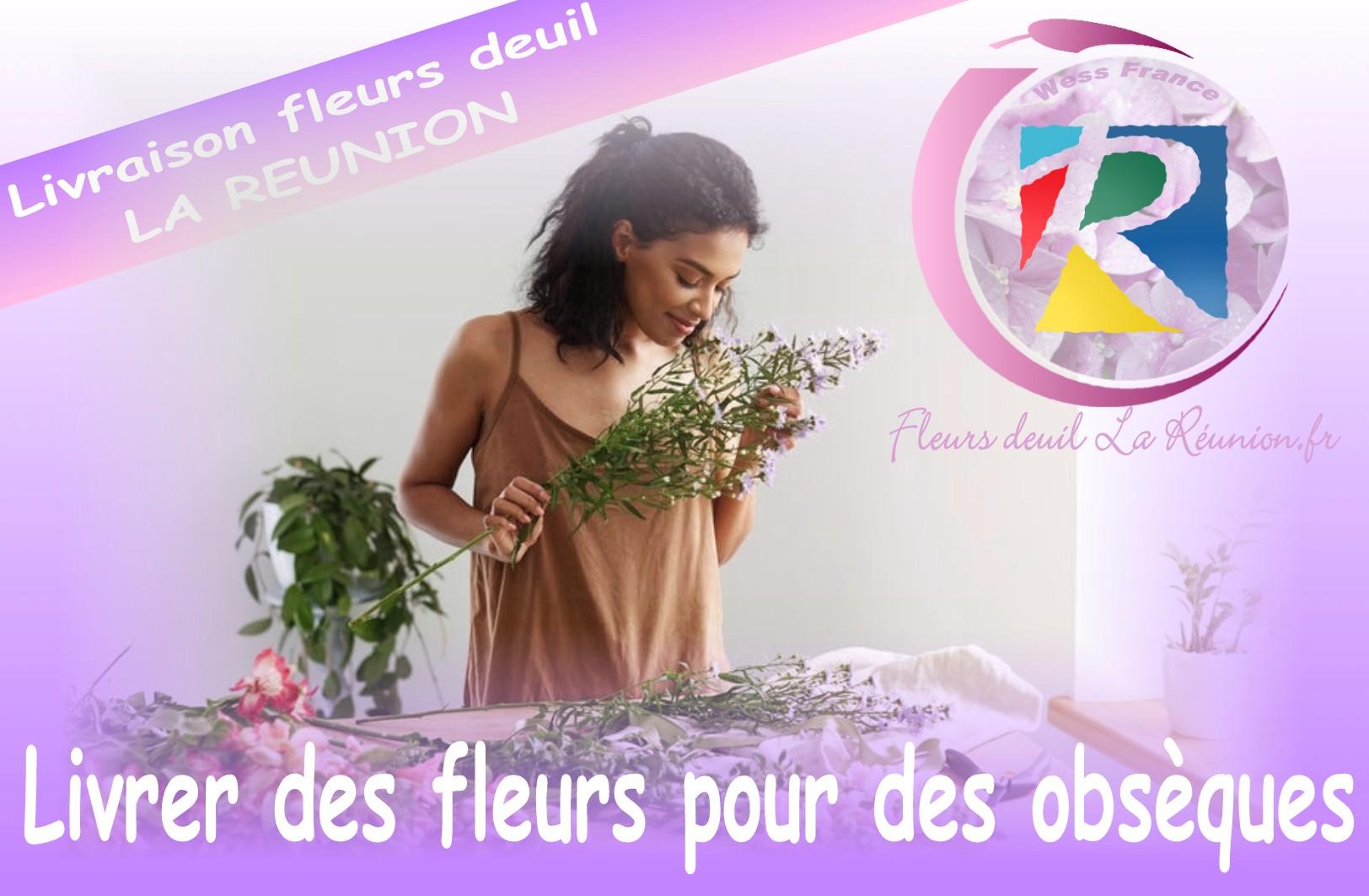 livraison de fleurs deuil saint benoit 97 la r union. Black Bedroom Furniture Sets. Home Design Ideas
